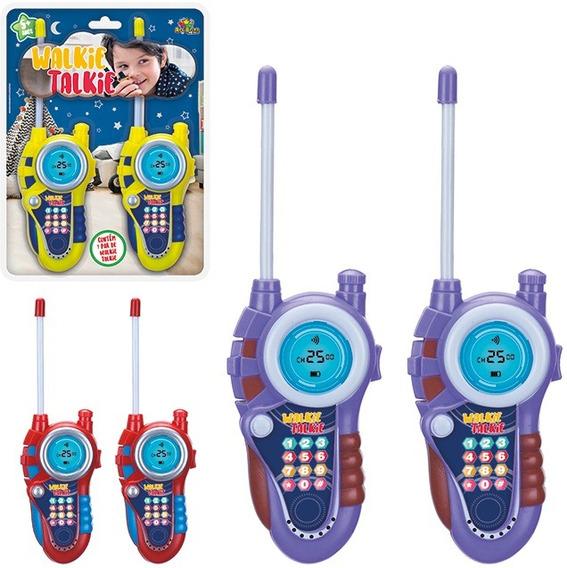 Walkie Talkie Infantil Rádio Comunicador Brinquedo Criança