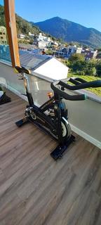 Bicicleta De Spinning Importada Profissional Restaurada