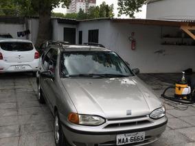 Fiat Palio Weekend 1.6 16v 1999 Prata Gasolina