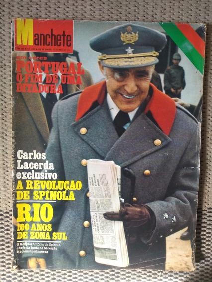 Revista Manchete Carlos Lacerda Ditadura Rio De Janeiro 1974