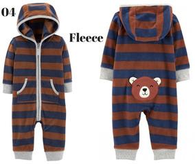 Macacão/pijama Carters Menino 24meses Fleece Original