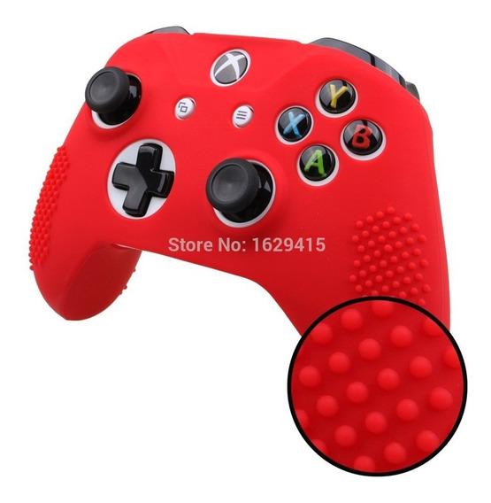 Capa Silicone Controle Xbox One S E X Capinha