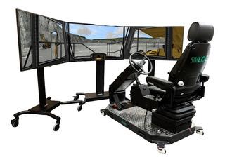 Simulador D Maqu Pesada Instalación Gratis Cat Komatsu Lima