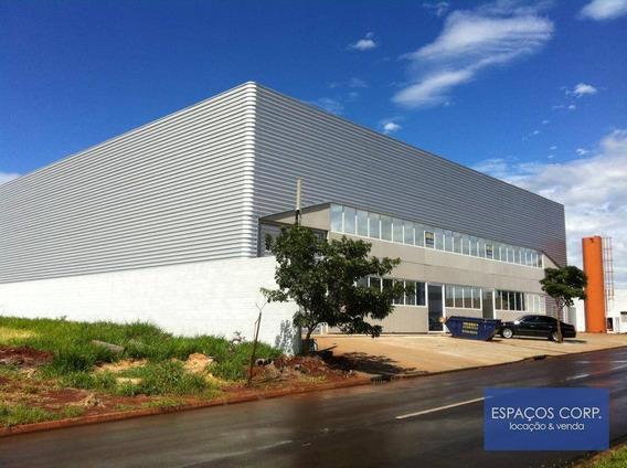 Galpão Para Localização, 1.700m² - Centro Empresarial Castelo Branco - Boituva/sp - Ga0306