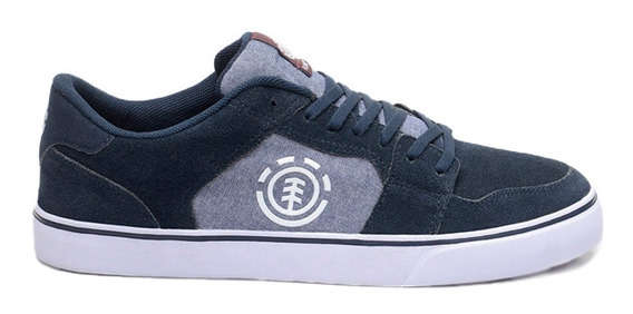 Zapatillas Element Heatley Navy Chambray Hombre Mfcttehe