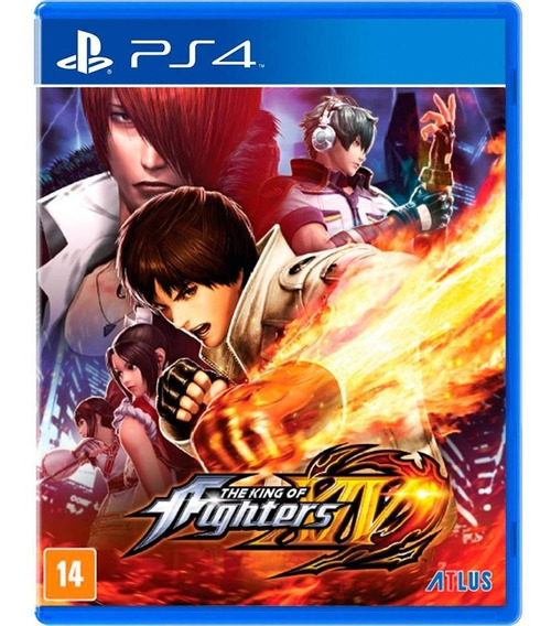 The King Of Fighters Xiv Kof 14 Ps4 Midia Fisica Lacrado Br