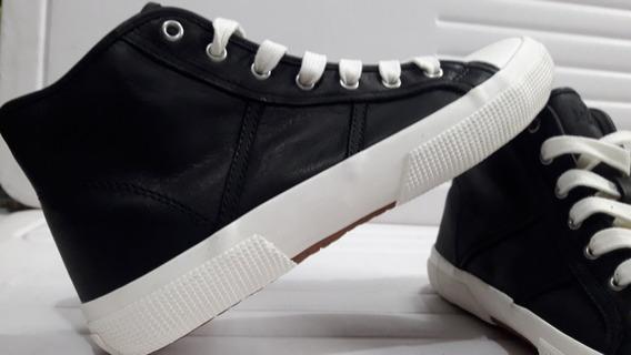 Zapatos Tenis Polo Ralph Lauren Piel Unisex Negros