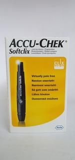 Accu Chek Softclix Dispositivo Punzador De Sangre Kit Nuevo