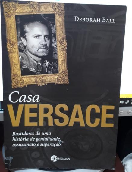 Livro - Casa Versace - Parcelado S/ Juros! - Com Garantia.