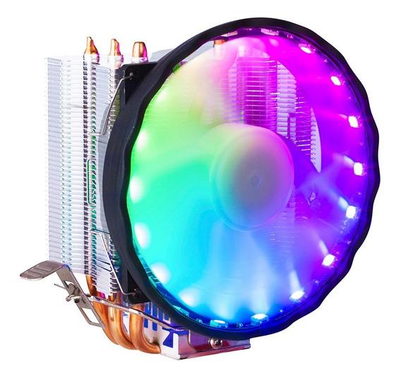 Cooler Processador Rgb Msi Aura Sync Pc Intel 775 1150 1151 1155 1156 1366 Amd Fm2 Fm2+ Am2 Am2+ Am3 Am3+ Am4