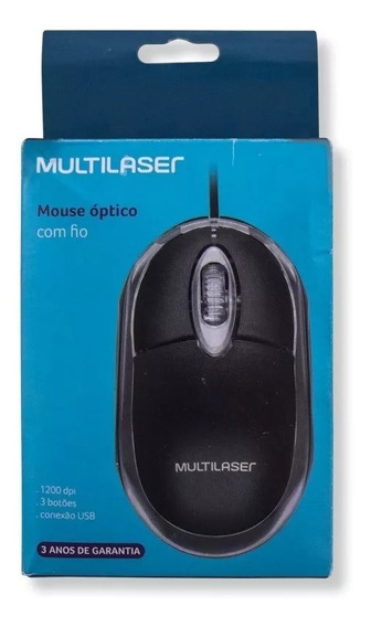 Mouse Para Notebook 1200dpi Optico Usb Kit C/ 5 Super Barato