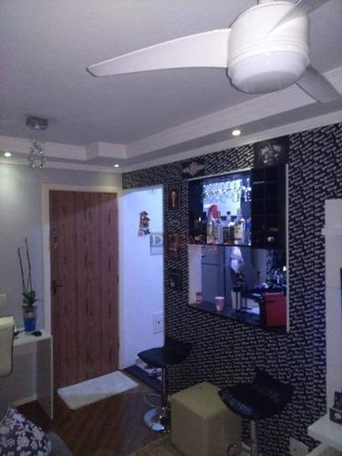 Imagem 1 de 17 de Apartamento Com 2 Dormitórios À Venda, 48 M² Por R$ 210.000,00 - Vila Curuçá - São Paulo/sp - Ap6149