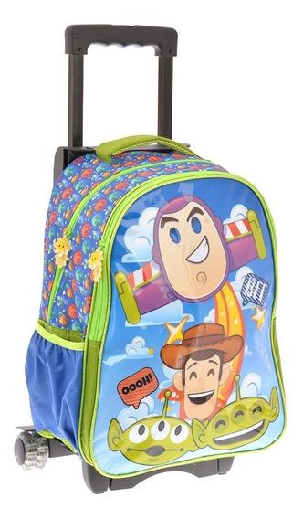 Mochilas Escolares Primaria Carrito Ruedas Toy Story 1681c
