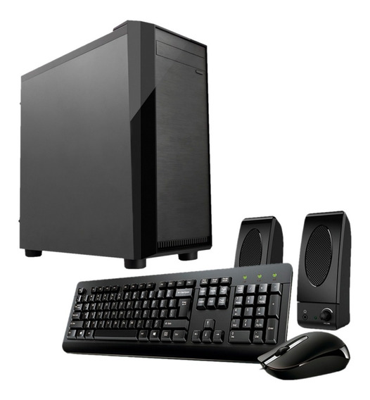 Pc Compu Oficina Intel Celeron G3930 4gb Ddr4 Ssd 120gb P1