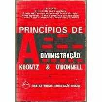 Livro Princípios De Administração O Mais Perfeito E Completo
