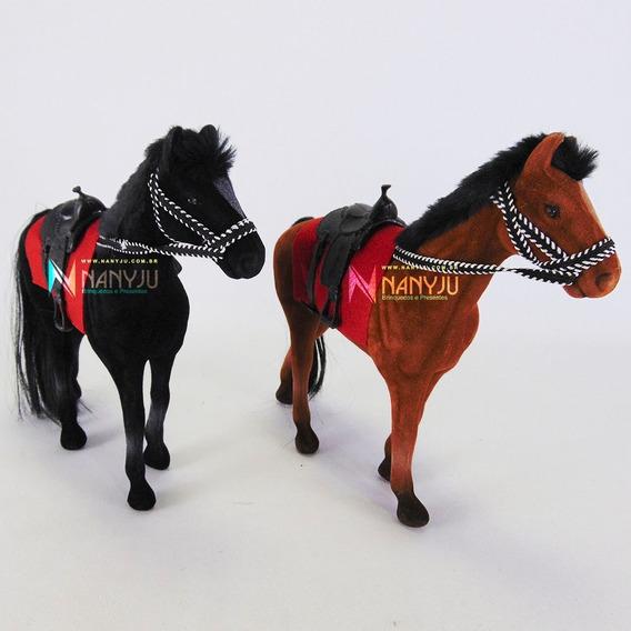 Cavalo Pelúcia Unitário Decorativo Pequeno Cavalinho