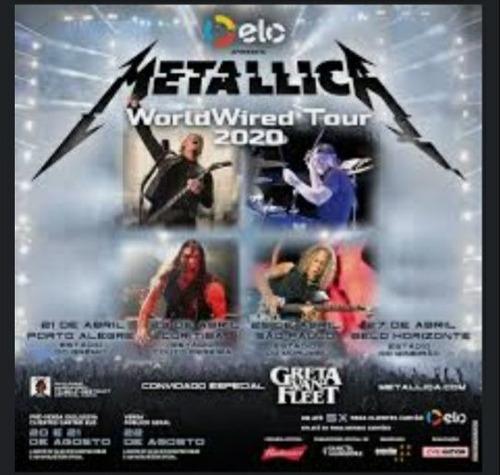 Ingresso Do Show Metallica