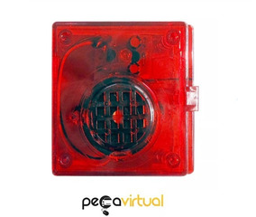 Alarme Sinalizador Sonoro Visual Caminhões Caçamba - Dni0526