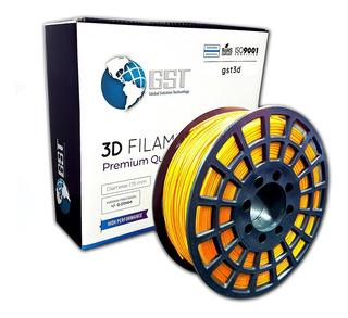 Filamento Pla Impresora 3d * G S T * 1,75mm 320mt X1 Kg Gst
