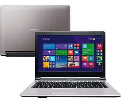 Notebook Positivo Intel 4gb 500gb Hdmi Wifi Webcam Usb 3.0