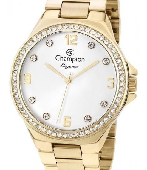 Relógio Champion Feminino Dourado - Cn25725h