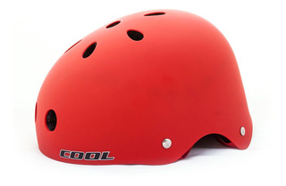 Casco Bicicleta Cool Sk11 Rojo Rcmdr