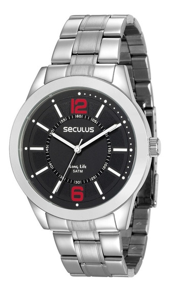 Relógio Seculus Long Life 2 Anos Garantia 28922g0svna1