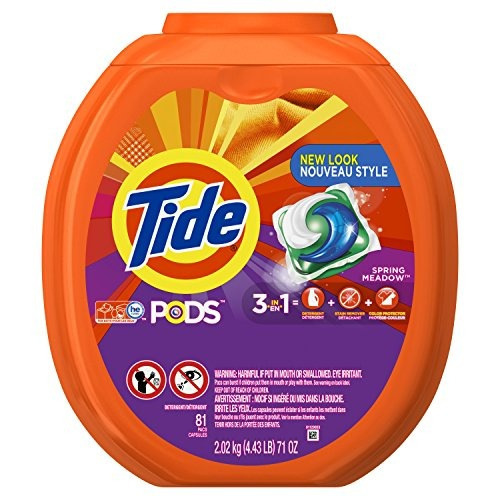 Tide Pods 3 1 He Turbo Detergente Ropa Spring Meadow Olor 81