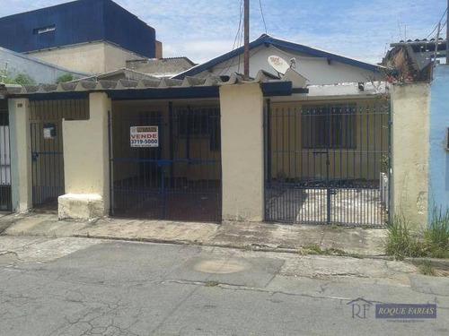 Casa Residencial À Venda, Vila São Silvestre, São Paulo - Ca0320. - Ca0320