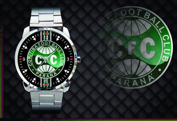 Relógio D Pulso Personalizado Coritiba Foot Ball Club Parana