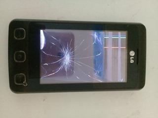 Celular LG Cookie Kp570q Tela Com Defeito