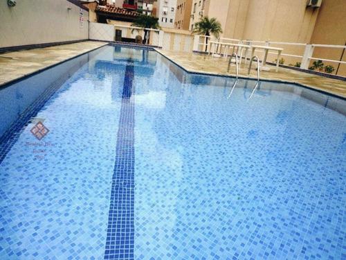 Imagem 1 de 30 de Apartamento A Venda No Bairro Parque Enseada Em Guarujá - - 168-1