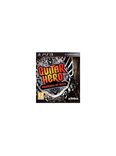 Guitar Hero: Warriors Of Rock Playstation 3 Solo Juego Pp