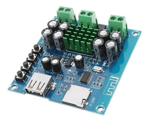 Modulo Amplificador Audio Estereo Bluetooth - Mp3 2x50w