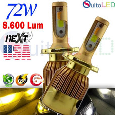 Focos Led Luces H4 H1 H3 H7 H11 9006 Bicolor 80w 8600lm