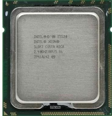 Intel Xeon E5530 Quad Core 2.40ghz/8m/5.86gt/s Qpi Semi Nov