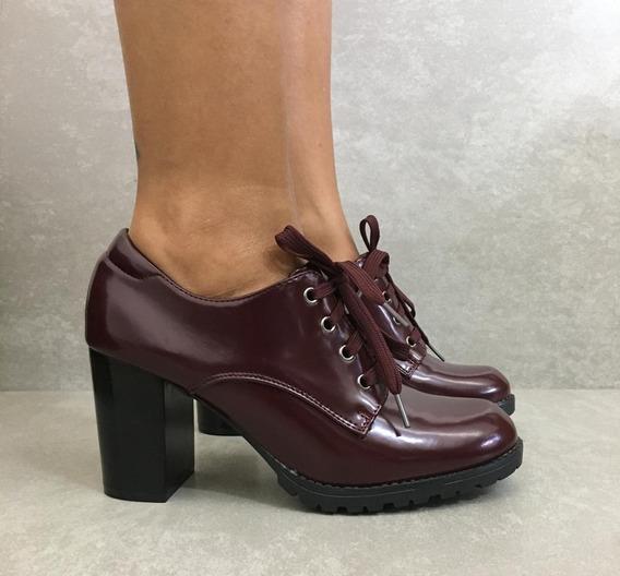Sapato Oxford Facinelli - Salto Alto
