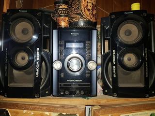 Equipo De Música Panasonic Sa-akx52 Súper Woofer