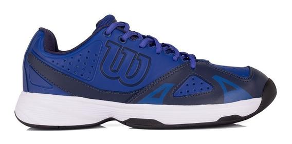 Tênis Wilson Force Marinho E Azul