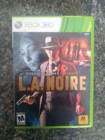 L.a Noire - Xbox 360 Original Em Mídia Fisica