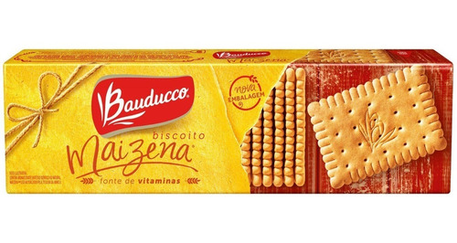 Imagem 1 de 2 de Biscoito Maizena Bauducco 170g