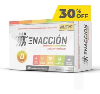 Ena Enaccion Multivitaminico 60 Comprimidos 30% Off!