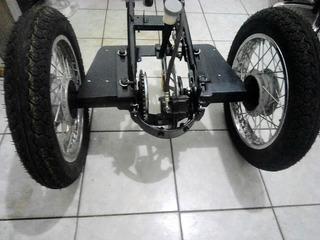 Diferencial P/triciclo Biz Pronto P/encaixar S/rodas Novo