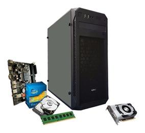 Cpu Gamer Intel/ Core I3/ 8gb/ 1tb/ 1050 Gtx 2gb + Nfe