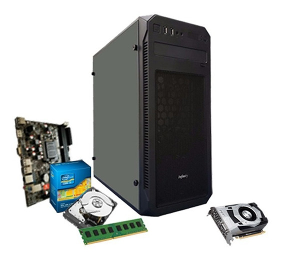 Cpu Gamer Intel/ Core I3/ 8gb/ 1tb/ 1050 Gtx 2gb + Nfe