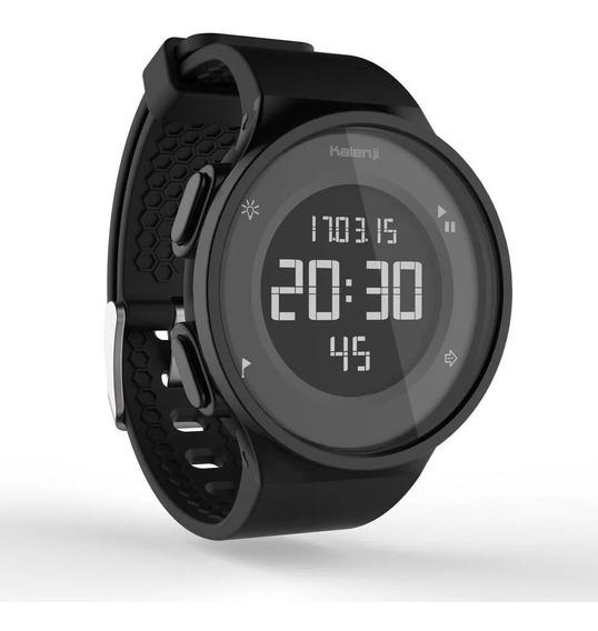 Relógio Digital Masc. Cronômetro Alarme Retroiluminação 5atm
