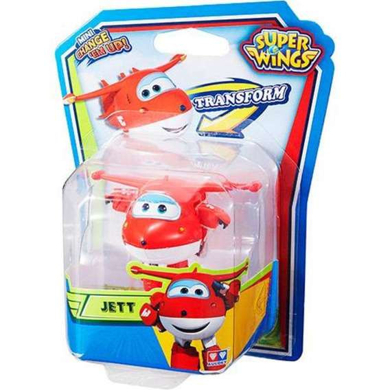 Mini Avião Super Wings Jerome Paul Mira Unitário Original