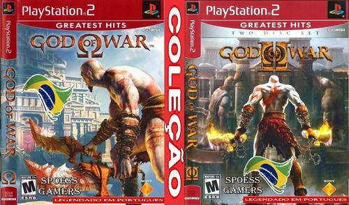 God Of War 1 E 2  Ps2 Legendado Português (2 Dvds) Patch Me