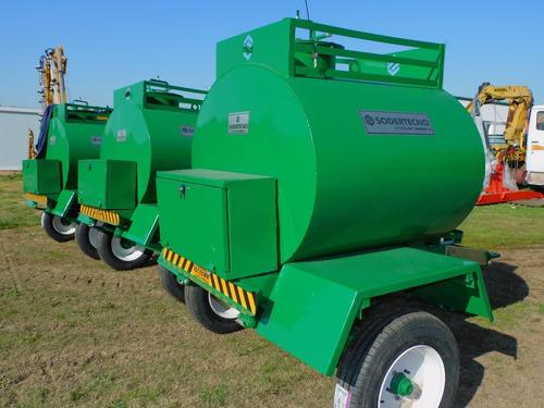 Cisterna Para Gasoil Nafta 1500 Lts. C/ Surtidor A Bateria