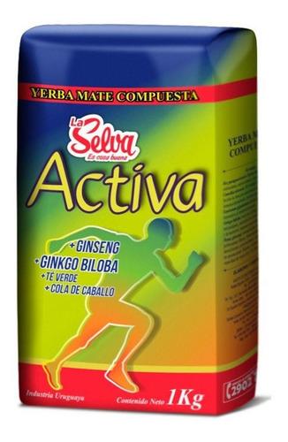 Yerba La Selva Activa 1kg